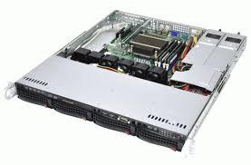 1U Rackmount Server Intel Xeon Processor