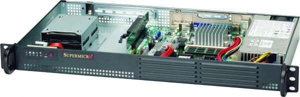 SUPERMICRO 5015A-EHF BBNS 1U MINI ATOM D510 2X LAN VGA PCIE DDR2 BAREBONE