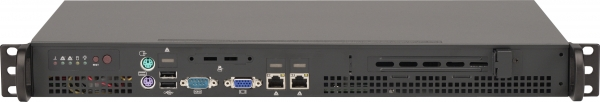 ASA1135-A1D-S2-S 1U SHORT DEPTH SERVER