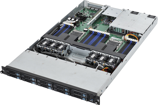 1U Dual Socket Rackmount Server