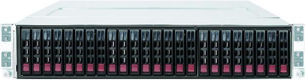 SUPERMICRO 2026TT-HTRF BBNS 2U TWIN 5520 4 NODE IPMI 6X 2.5 IN 1400W 1+1 BAREBONE