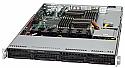 SUPERMICRO 6016T-6F BBNS 1U DP 5520 4X SAS2 IPMI 560W 2X LAN BAREBONE