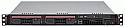 SUPERMICRO 5017C-TF BBNS 1U UP H2 C204 2X 3.5IN SATA DDR3 IPMI 350W BAREBONE