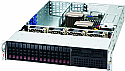SUPERMICRO 2026T-URF4+ BBNS 2U 5520 DP UIO 4XGBE DDR3 16X 2.5IN 920W 1+1 BAREBONE