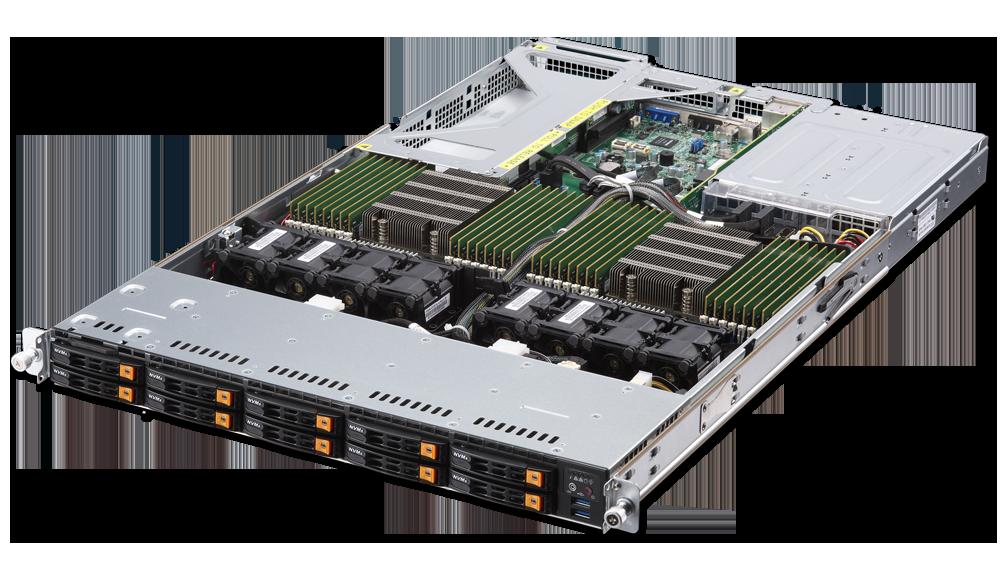 Dual AMD EPYC 1U Rackmount Server