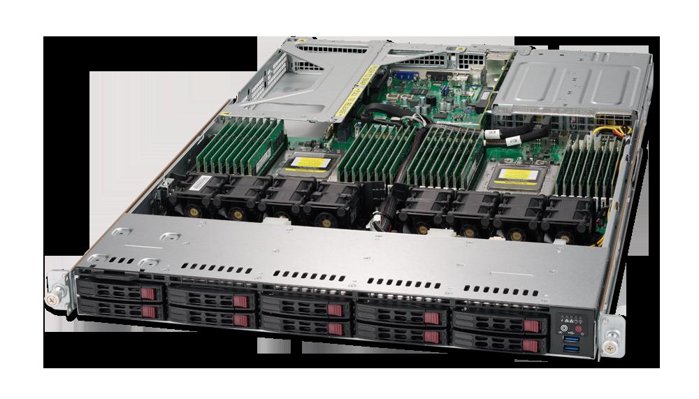 Dual AMD EPYC 1U Rackmount Server-2