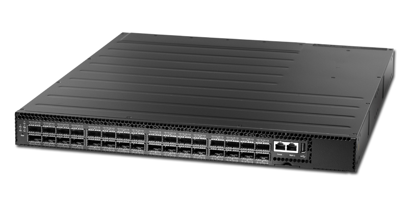 Edgecore AS6712-32X 32-port 40GbE QSFP+ switch port-to-power airflow