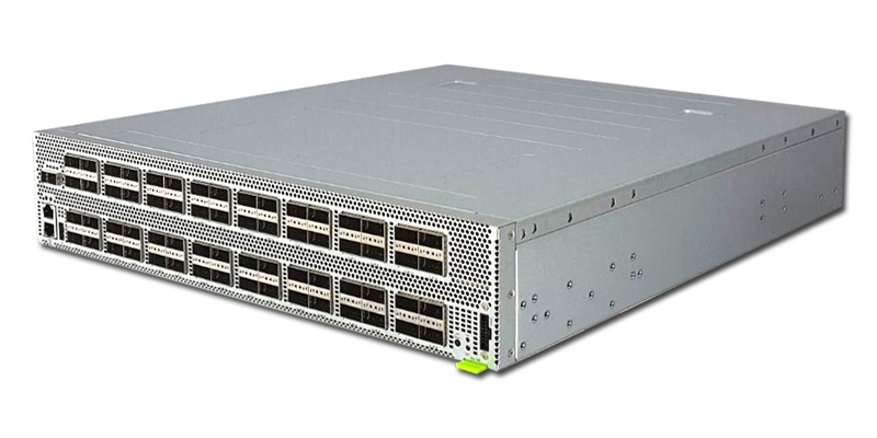 Edgecore Wedge100BF-65X 65-port 100GbE QSFP28 switch port-to-power airflow