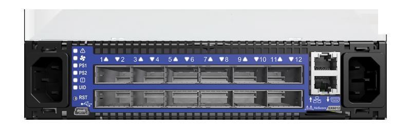 Mellanox MSX6012F-2BFS SwitchX-2 FDR InfiniBand 1U Switch