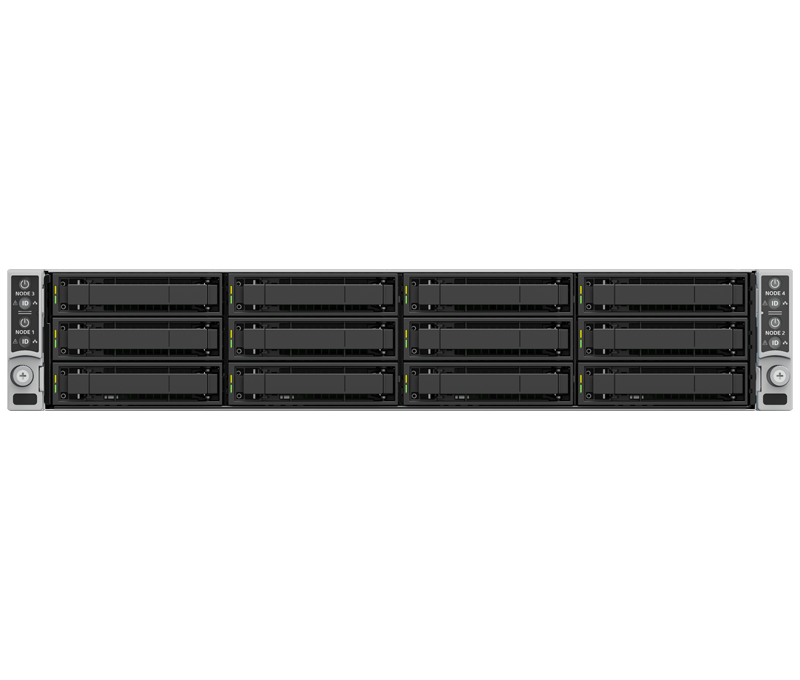 2U 4 Node Dual Socket Scalable Family Rackmount Intel Server