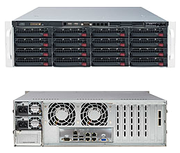 3U Dual Socket Rackmount Server 920W