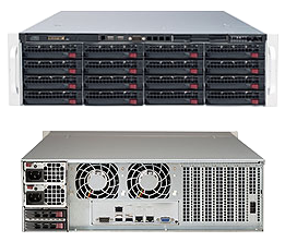 3U Dual Socket Rackmount Server SAS3