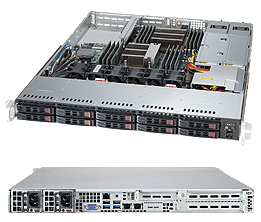 Dual Socket 1U Rackmount Server