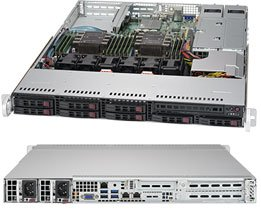1U Dual Socket Scalable Family Rackmount RTS Server 1