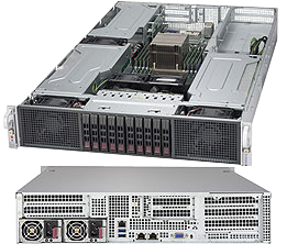 2U Dual Socket Rackmount Server