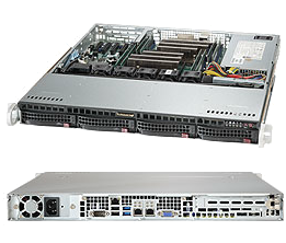 Dual Socket 1U Rackmount Server 500W Platinum