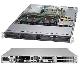 Dual Socket 1U Rackmount Server Digital Platinum