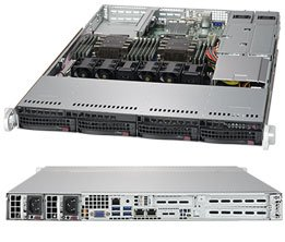 1U Dual Socket Scalable Family Rackmount RTS Server 2
