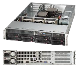2U Dual Socket Rackmount Server WIO