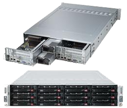 2U 2 Node Dual Socket Twin Rackmount Server