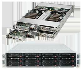 Dual Socket Rackmount Server 2U TwinPro2