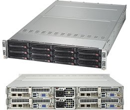 SYS-6029TP-HTR 2U Rackmount Server CSE-827HQ+-R2K20BP2 Super X11DPT-PS