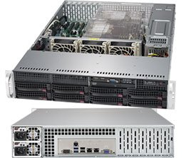 2U Dual Socket Scalable Family Rackmount Server