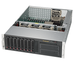 3U Dual Socket Rackmount Server