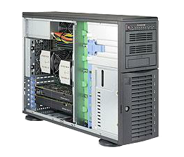 Dual Socket Rackmount Server 4U Whisper Quiet