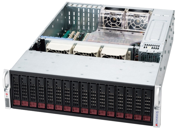 AIN3103-X2O-S2-R 3U iSCSI STORAGE SOLUTION