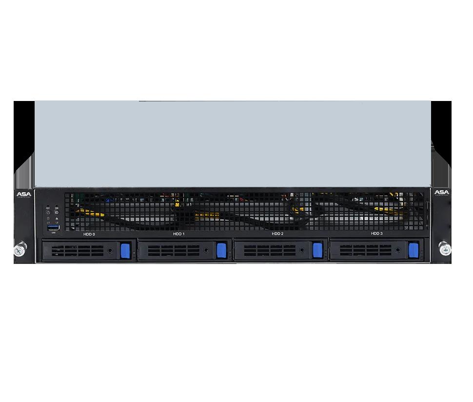 Ampere Altra 2U 4X GPU ARM Server
