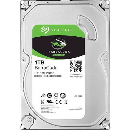 "Seagate 1 TB Internal HDD - 3.5"" - ST1000DM010 - SATA 6Gb/s - 7,200 rpm"