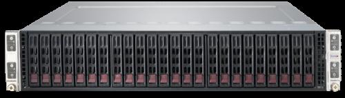 Supermicro SuperServer SYS-2028TP-HTR-SIOM 2U 4 Node Rackmount Server