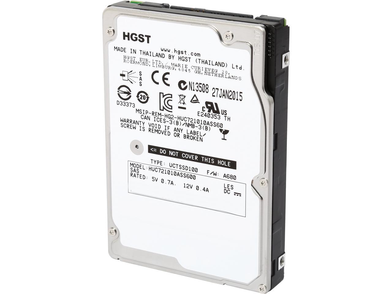 HITACHI 1TB US SAS 7200RPM 64MB 2.5IN -0B30780
