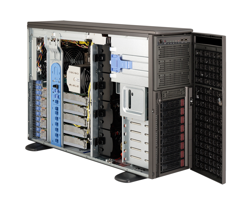 Supermicro SuperServer SYS-7047GR-TRF Rackmountable / Tower Server Barebone
