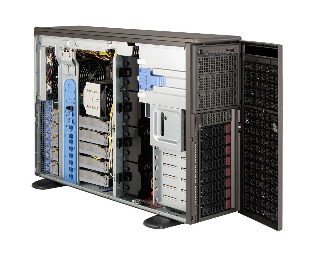 Supermicro SuperServer SYS-7047GR-TRF Rackmountable / Tower Server Barebone