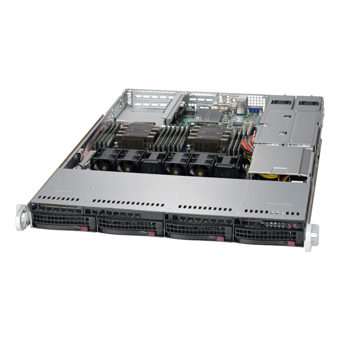 Supermicro SuperServer SYS-6019P-WTR, 1U
