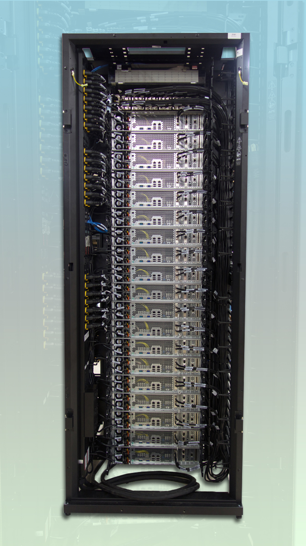 Rack with Networking