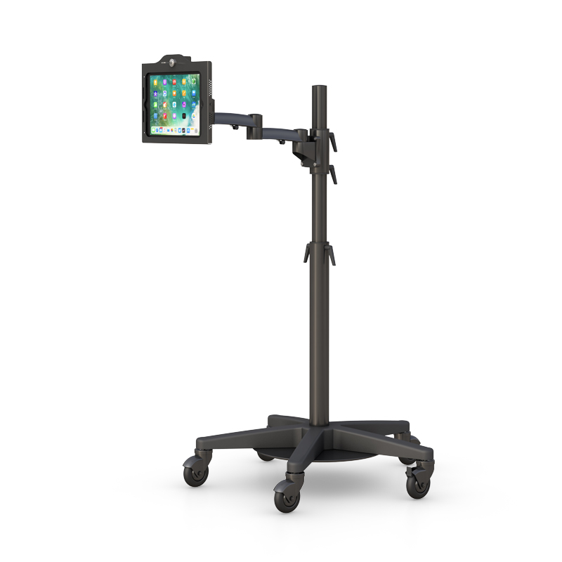 Adjustable Healthcare Tablet Cart